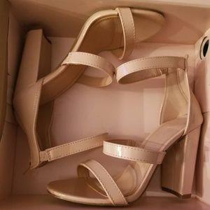Pinkish Nude High Heels